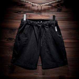 休闲男短裤修身五分裤夏季沙滩
