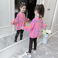 女童套装秋装童装秋季洋气时髦网红两件套休闲