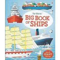 【现货】英文原版 Usborne认知大书:轮船 精装儿童绘本 认知启蒙 3-5岁以上 Big Book of Ship