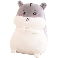 毛绒玩具仓鼠抱枕女生毛绒公仔可爱布娃娃萌女孩