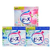 日本原装进口 花王KAO洗衣粉 超浓缩 含天然柔顺剂无磷不含荧光剂 3盒
