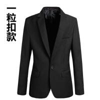 韩观男士小西服韩版修身商务休闲职业正装青少年秋季工作英伦西装外套