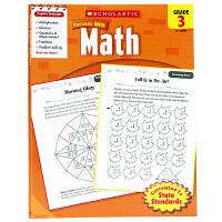 进口英文原版 学乐成功系列 Scholastic Success with Math (Grade 3) 三年级 数学