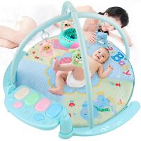 男女婴玩具0-1岁宝宝半岁6-12个月7-18脚踏钢琴架音乐游戏毯