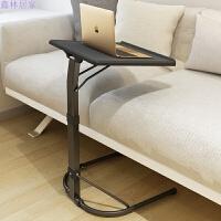 笔记本电脑桌床上用懒人桌折叠升降可移动书桌简易沙发桌床边桌子