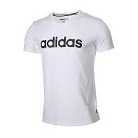 Adidas阿迪达斯 男装 2018新款NEO运动休闲圆领短袖T恤 DM4284