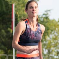 户外运动背心女马拉松速干跑马无袖背心速干田径训练服