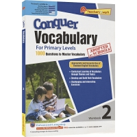SAP Conquer Vocabulary 2 二年级英语词汇练习册 攻克词汇系列 在线测试 8岁 提高词汇量训练