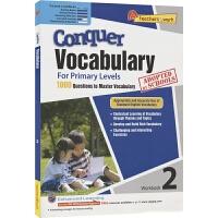 【首页抢券300-100】SAP Conquer Vocabulary 2 二年级英语词汇练习册 攻克词汇系列 在线测试