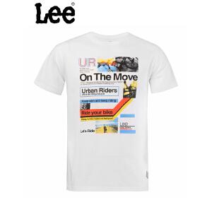 Lee 【断码】男士短袖T恤 时尚款式设计 舒适面料 L15124J21K14