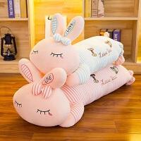兔子毛绒玩具睡觉抱枕公仔可爱韩国萌布娃娃儿童玩偶生日礼物女孩抖音