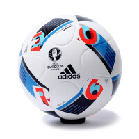 Adidas 阿迪达斯男欧洲杯比赛足球法兰西之翼5号球2016新款AC5415 比赛训练球 AC5418
