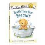 I can read饼干狗系列分级阅读 英文原版 Bathtime for Biscuit 小饼干的洗澡时间 分阶阅读
