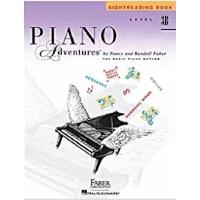 英文原版 菲伯尔钢琴基础教程(3B级):视奏 Piano Adventures: Level 3B: Sightread
