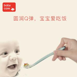 babycare儿童硅胶勺子套装
