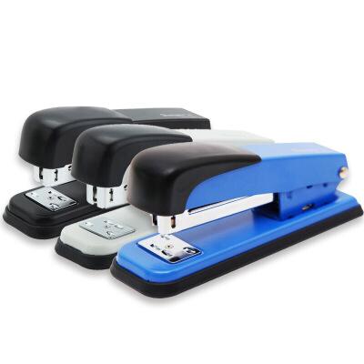 广博(GuangBo)12#金属订书机订书器可暂钉/办公用品 颜色随机 单个装DSJ7204S