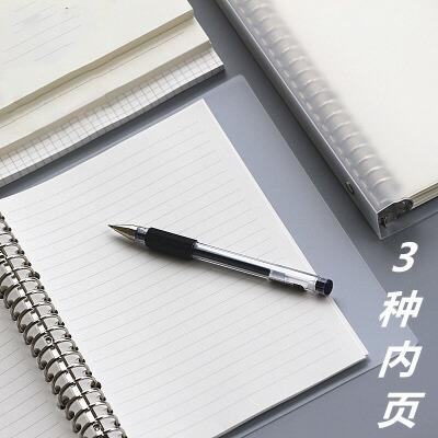 苏铁时光其他 苏铁时光小方格空白横线活页本a5 b5大笔记本子绘画网格手