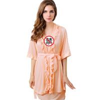 情趣睡衣女式冰蚕丝性感套装女式多件套睡衣TM