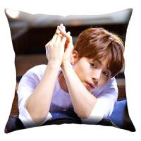 照片靠垫来图定制创意生日礼物 抱枕周边午睡靠枕垫定做