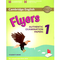 剑桥官方少儿英语YLE等级三级考试 Cambridge English Flyers 1 for Revised Exam from 2019 模拟考试真题集