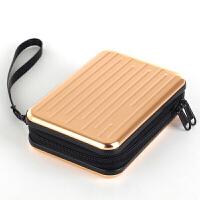 收纳包寸移动硬盘包金属外壳防水金刚包硬壳包保护包