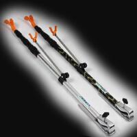 铝合金垂钓箱炮台钓鱼竿支架手竿架杆架竿地插渔具用品