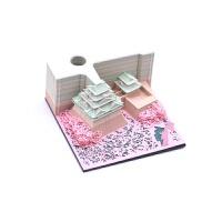 抖音�W�t日本3D便����意便��立�w��g便�本名古屋城天守�w建筑�雕模型中���L可手撕��g清水寺便利�N