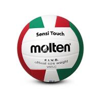 Molten/摩腾 排球 V5FLC 5号球 PU材质 18拼块 双层丁基内胆