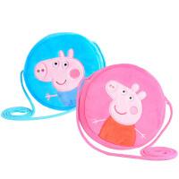 礼物佩佩猪毛绒玩具礼物圆形零钱包