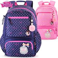 迪士尼书包小学生女童1-3-6三年级公主女孩轻便儿童减负双肩背包5