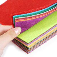儿童手工diy布艺进口不织布布料无纺布制作材料包 毛毡幼儿园40色