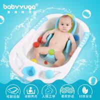 婴儿浴盆 宝宝洗澡盆大号婴幼儿童洗澡盆 加厚沐浴盆新生儿用品