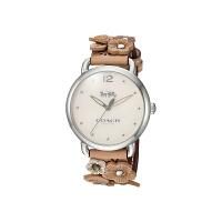 【网易考拉】COACH 蔻驰 蒂兰希贴花棕色表带女士腕表