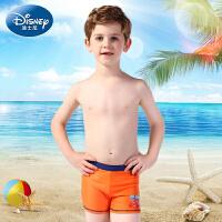 迪士尼汽车麦昆男童泳裤 儿童游泳衣装备小学生泳裤中大童沙滩裤