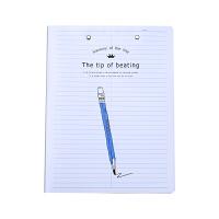 【下单领3元无门槛券】创意学习办公文具 学生文件夹 双夹板夹 活页资料夹子 试卷夹 文件夹 款式不指定
