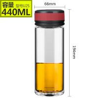 万象玻璃杯单层玻璃水杯便携无铅办公茶杯创意杯子U1/U2/U3/U4