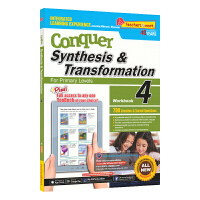 SAP Conquer Synthesis & Transformation 4 附赠电子读物 四年级攻克句子&变形系