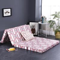 定制简易加厚日式可折叠床垫学生单人海绵午休垫子打地铺午睡防潮SN4717