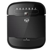 家卫士/扫地机器人智能吸尘器 家用超薄全自动充电吸尘器S500黑色