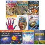 100 facts Set 4 100个事实 动物的生命 哺乳动物 weather 地球物种和宇宙篇 儿童英语科普读物