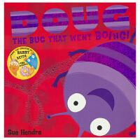 【首页抢券300-100】Doug the Bug 虫子道格的冒险 微观世界是什么样子 英语故事绘本 闪亮封面 儿童英文