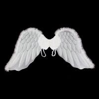 万圣节天使翅膀 羽毛燕形翅膀儿童表演 道具新娘花童装扮