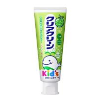 花王木糖醇婴幼儿童可吞咽牙膏 防蛀健齿 水果味 哈密瓜味  每支70g