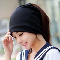 月子帽女春秋冬天孕妇帽子产妇帽头巾薄款男士套头帽包头睡帽韩版