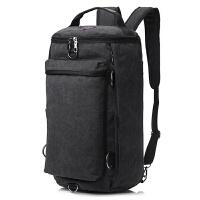 青年大容量帆布健身背包 多功能三用旅行包 男包双肩包水桶行李包定制