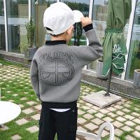 男童外套童�b�和�棒球服中大童男孩�A克衫