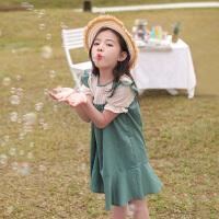 女童连衣裙夏装儿童装夏季公主裙大童裙子