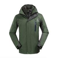男女冲锋衣秋冬季三合一两件套可拆卸抓绒内胆西藏登山服