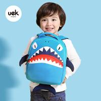 书包小宝宝书包鲨鱼男女双肩背包儿童幼儿园2-3-6岁
