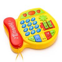婴幼儿童玩具电话机婴儿早教小孩音乐手机宝宝0-1-3岁12个月